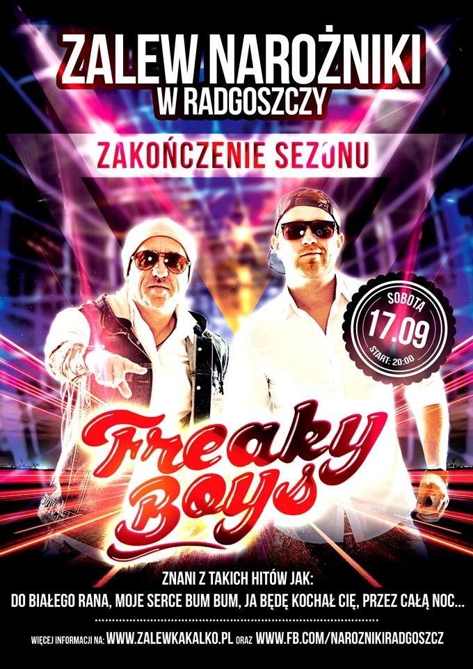 17.09 – Koncert Freaky Boys